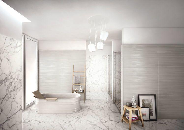 Gres porcellanato effetto marmo ceramiche keope
