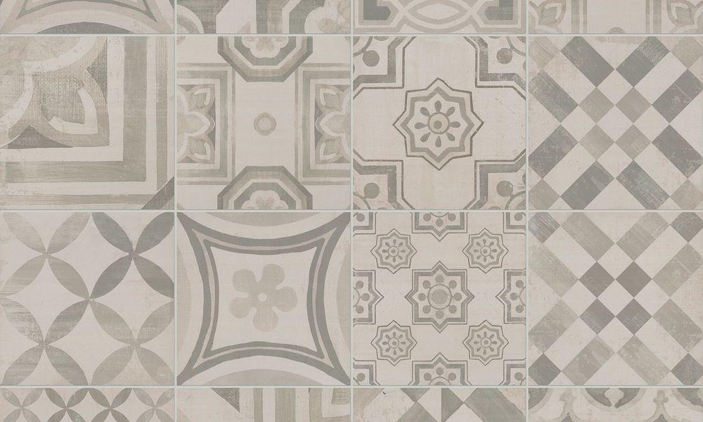 Le cementine piastrelle pattern geometrici e stile optical
